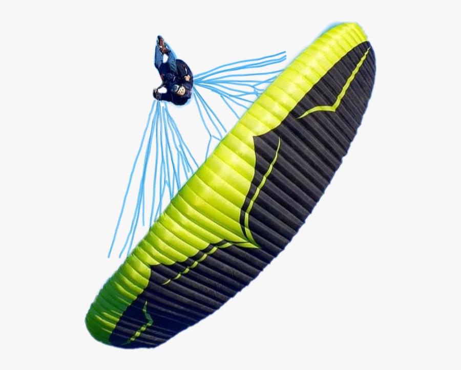 #acro #paragliding - Paragliding, Transparent Clipart