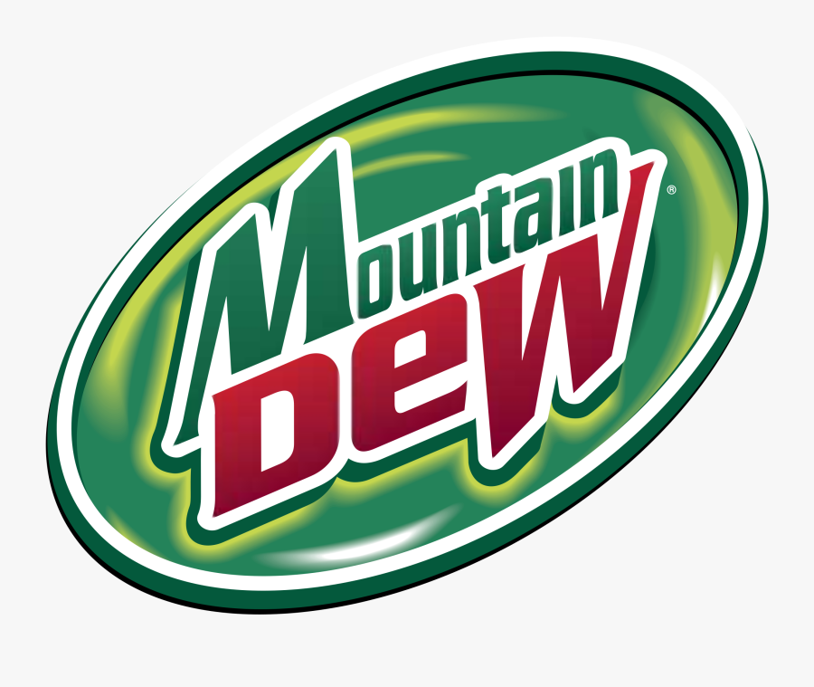 Mountain Dew Transparent Png - Mountain Dew Logo Vector, Transparent Clipart