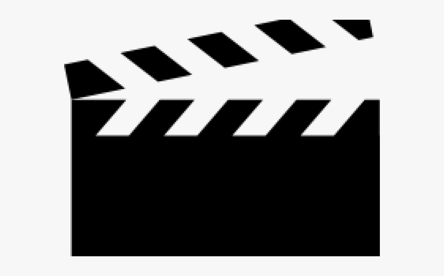 Clapperboard Cliparts - Clapperboard Drawing Png, Transparent Clipart