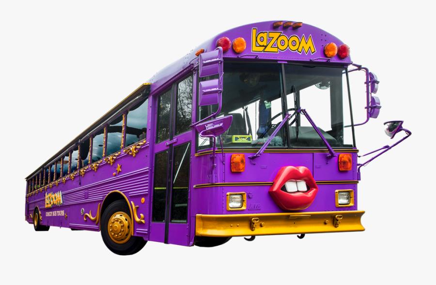 Clip Art Lazoom Tours - Tour Bus Service, Transparent Clipart