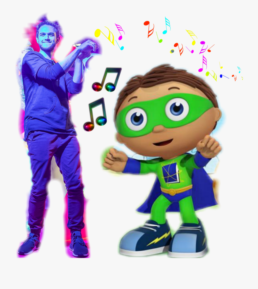 Zedd And Super Why Are The Part Of Rainbowpowersparkle,s - Cartoon, Transparent Clipart