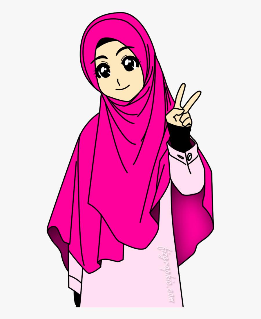 Muslimah Islamiah Pinterest Muslim Animasi Gambar Kartun