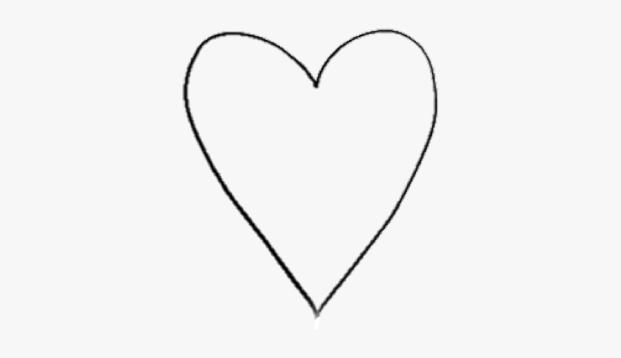 Black And White Transparent Heart, Transparent Clipart