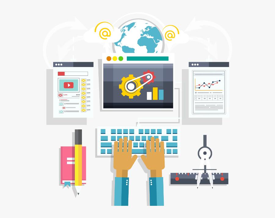 Transparent Future Technology Clipart - Web Application Testing Service, Transparent Clipart