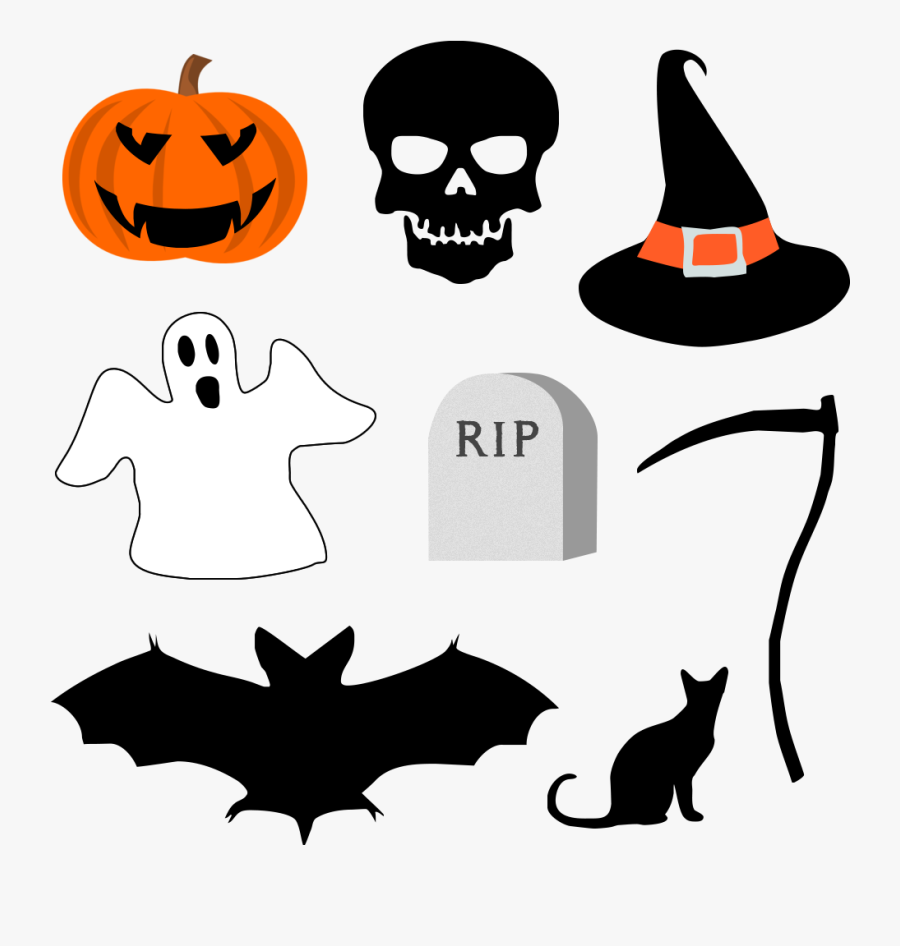 Free Halloween Graphics Psd Download - Halloween Png, Transparent Clipart