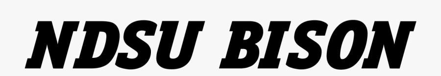 Clip Art North State Bison Font - Graphics, Transparent Clipart