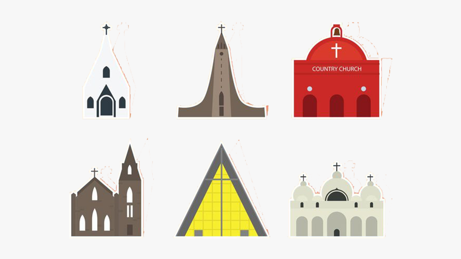 Church Architecture Euclidean Vector - Parish, Transparent Clipart