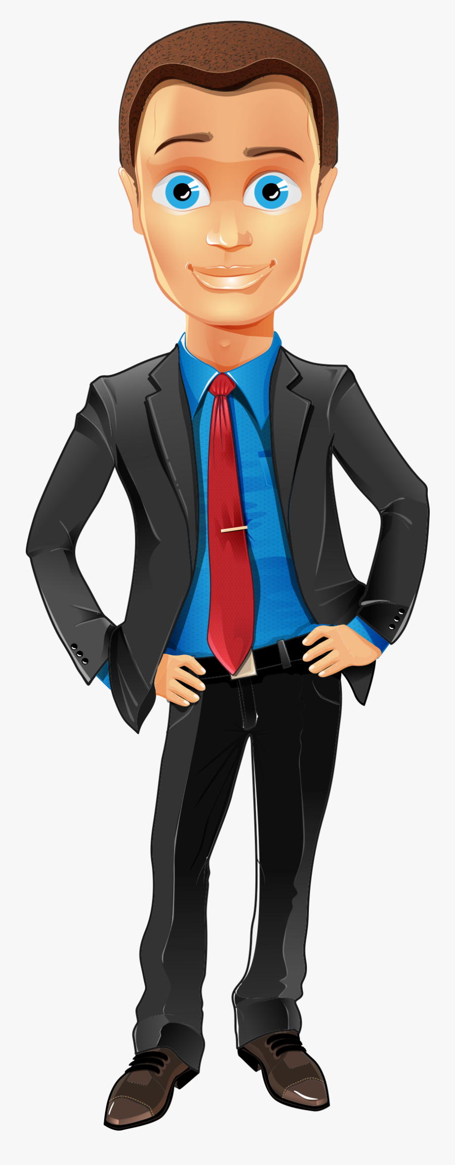 Clip Art Business Character Illustration People, Transparent Clipart
