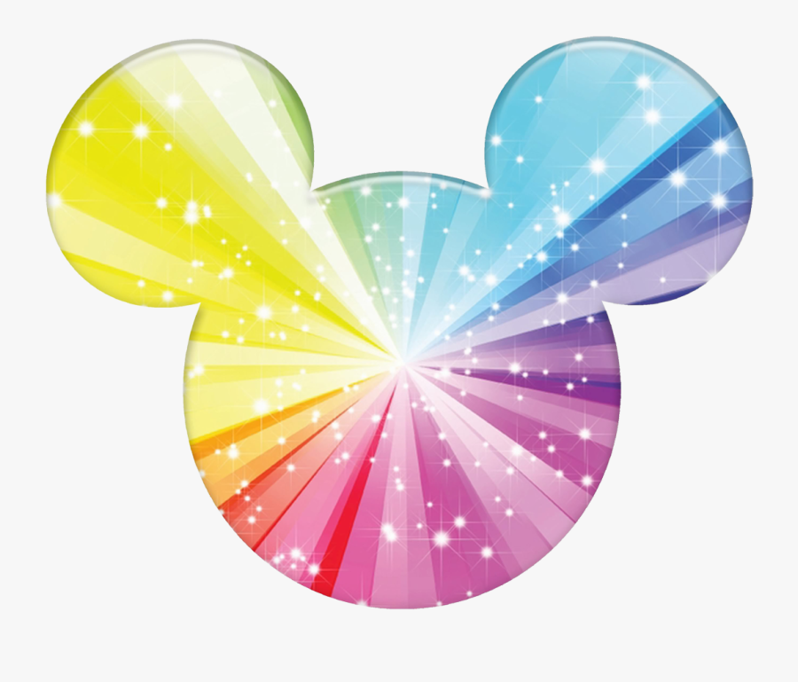 Skeleton Clipart Mickey Mouse - Colorful Mickey Mouse Ears, Transparent Clipart