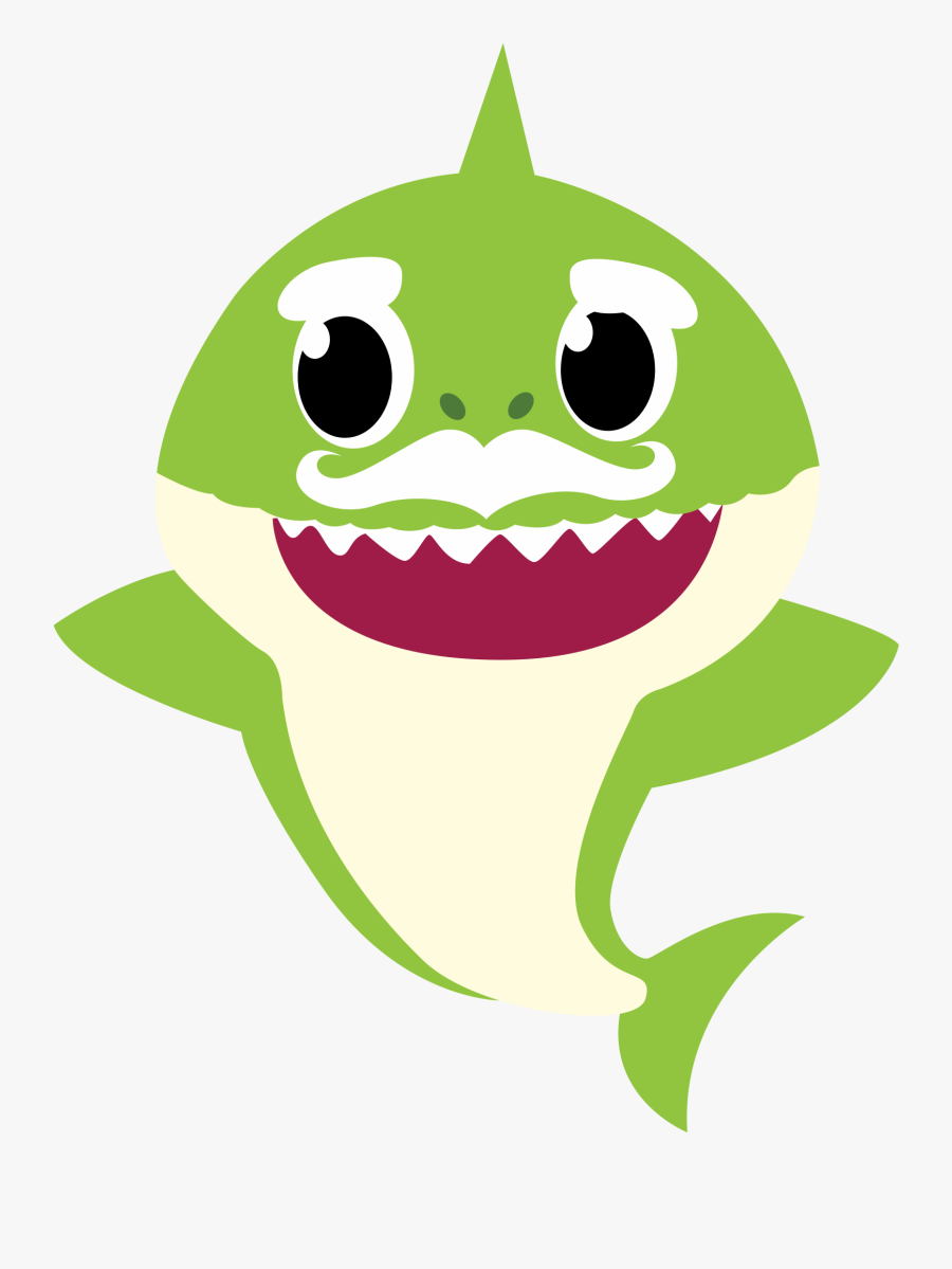 Baby Shark Grandpa Png , Free Transparent Clipart - ClipartKey