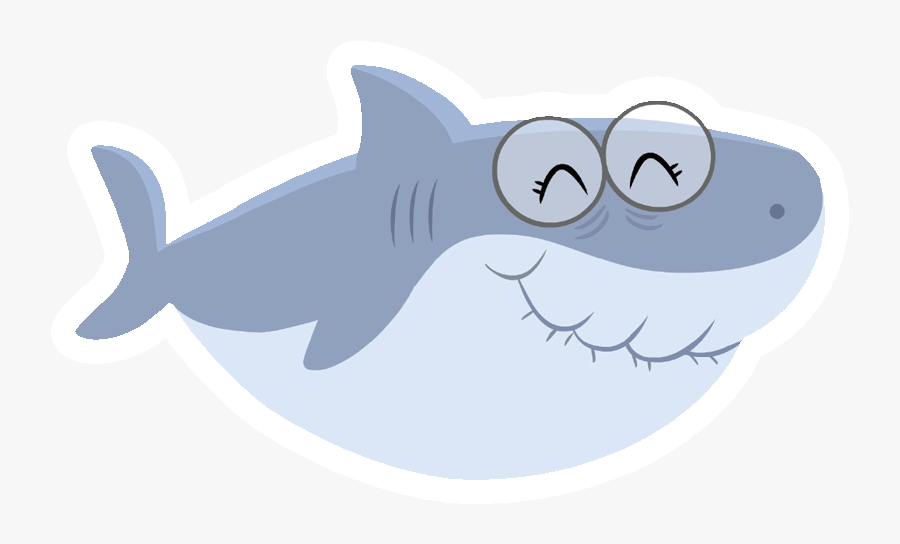 Transparent Shark Teeth Png - Baby Shark Grandma Shark, Transparent Clipart