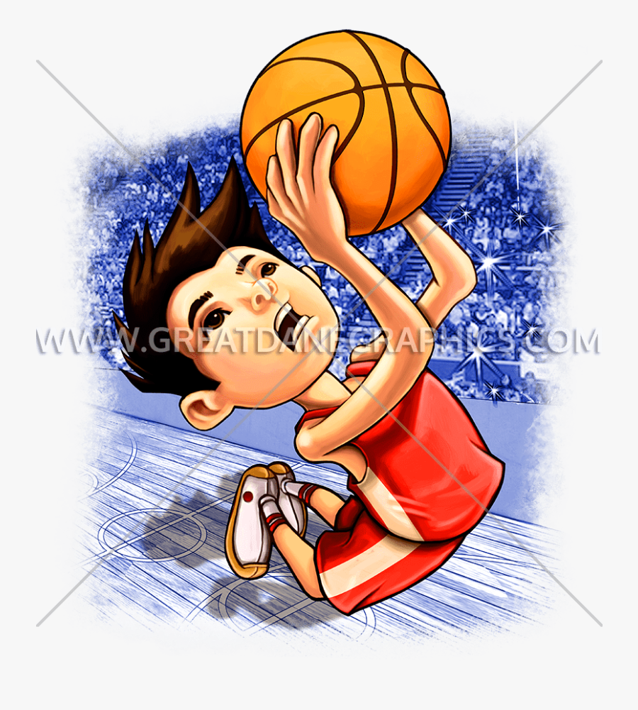 Vector Transparent Library Basketball Boy Clipart - Art Kid Basketball, Transparent Clipart