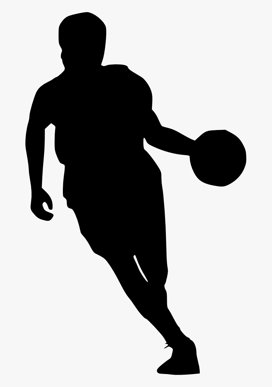 Basketball Silhouette Sport Clip Art Basketball Player Transparent Background Free Transparent Clipart Clipartkey