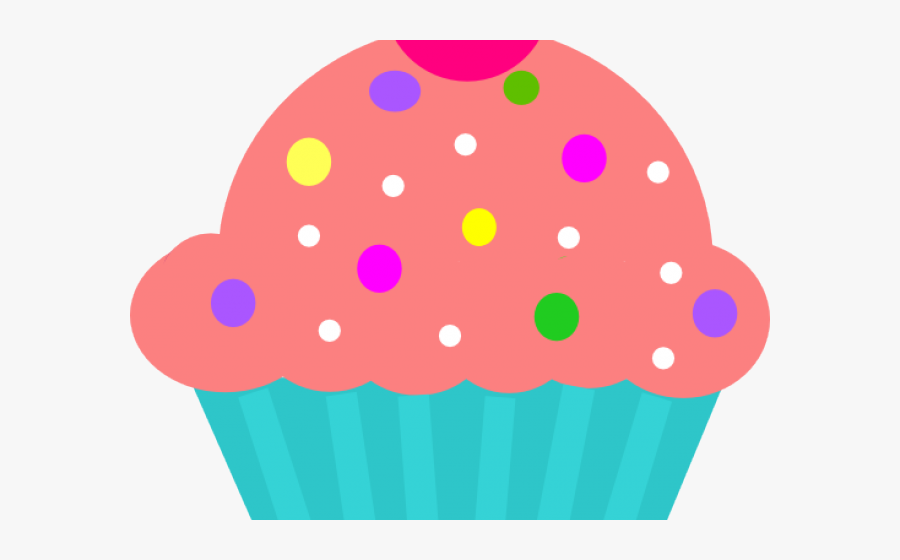 Cupcake Clipart Turquoise - Turquoise Cupcakes Clipart, Transparent Clipart