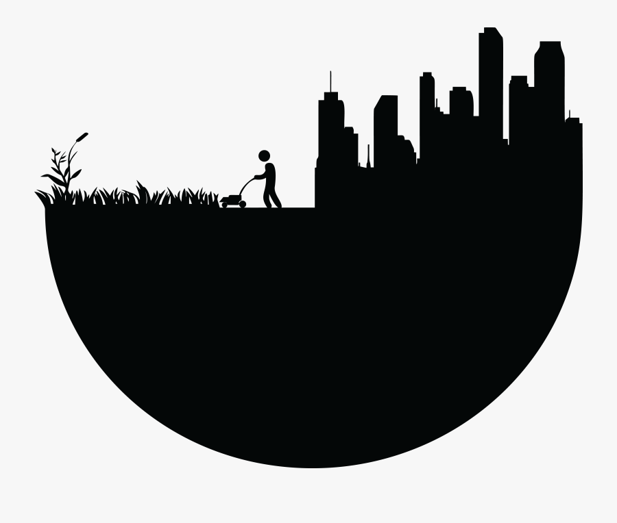 Earth Day Silhouette Clip Arts - Vector Silhouette Earth Png, Transparent Clipart