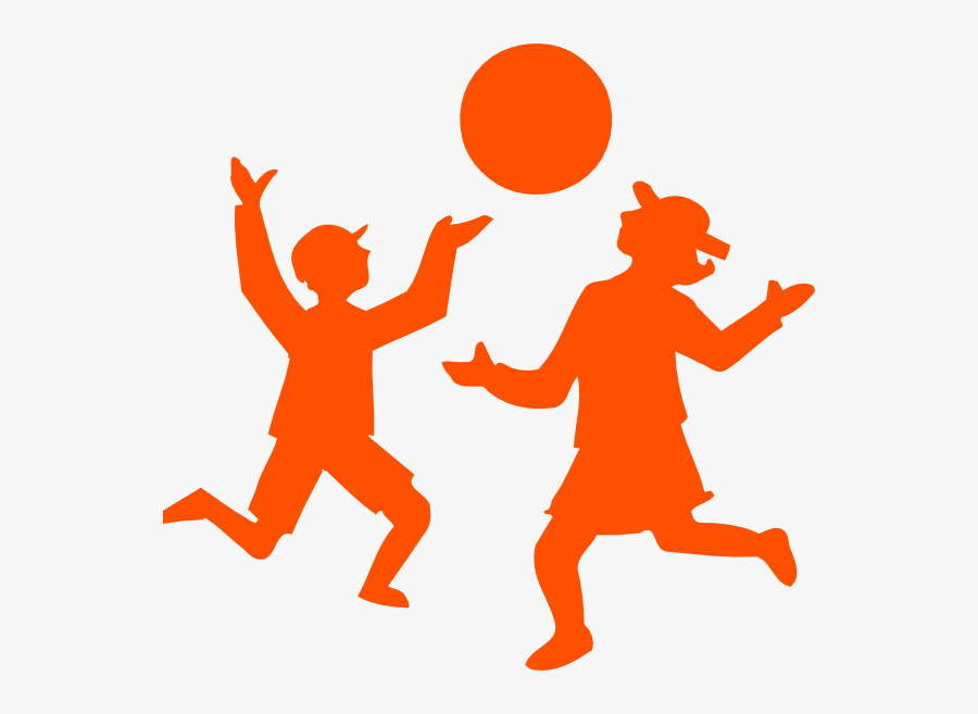Kids Playing Outside Clipart At Getdrawings - Games Clipart Black And White, Transparent Clipart