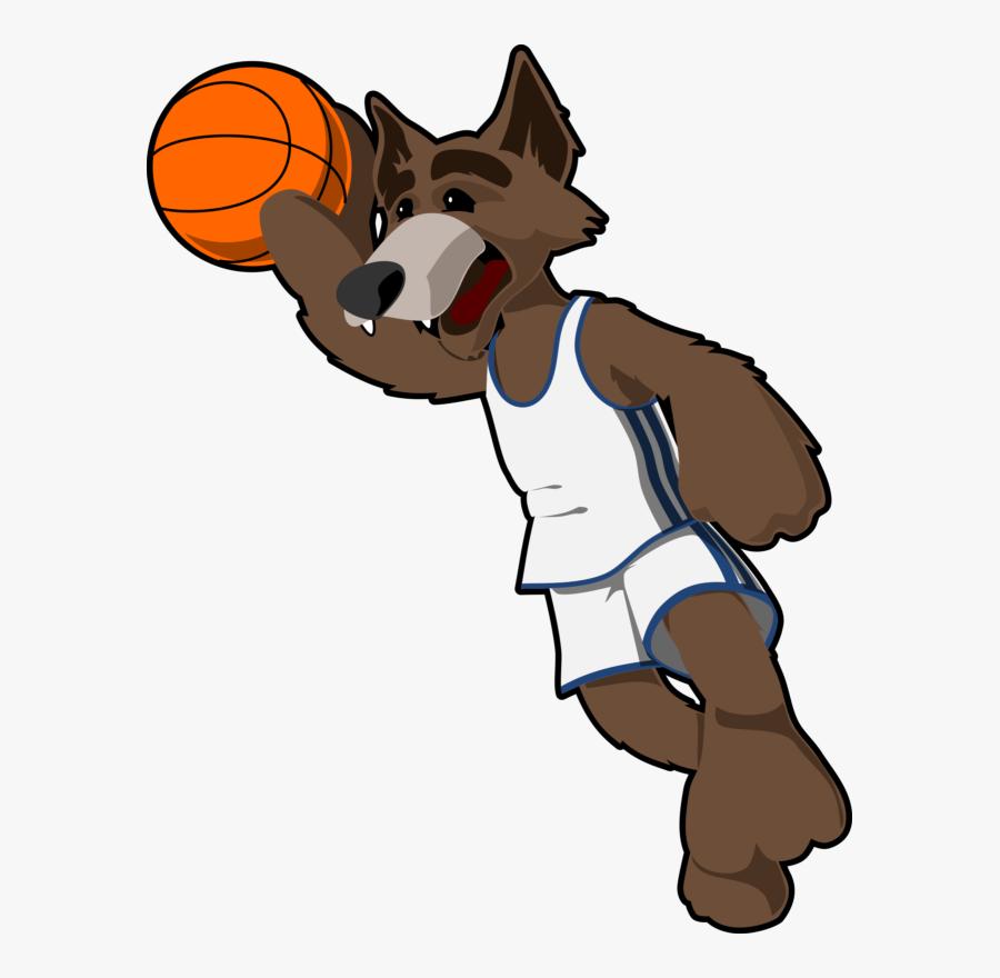 Vector Basketball / Basketball Free Vectors Download - Basketball Animated Cartoon Players, Transparent Clipart