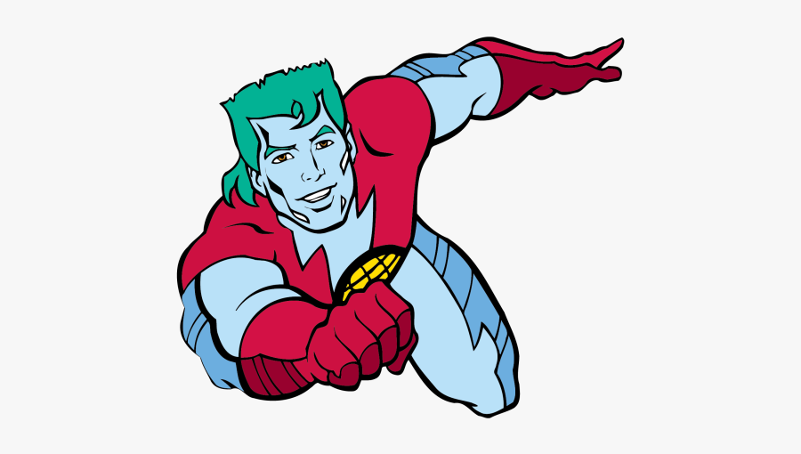 Captain Planet - Captain Planet And The Planeteers, Transparent Clipart