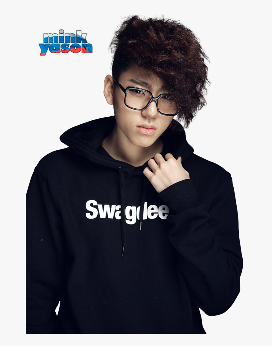 Transparent Korean Clipart - Rap Monster Curly Hair, Transparent Clipart