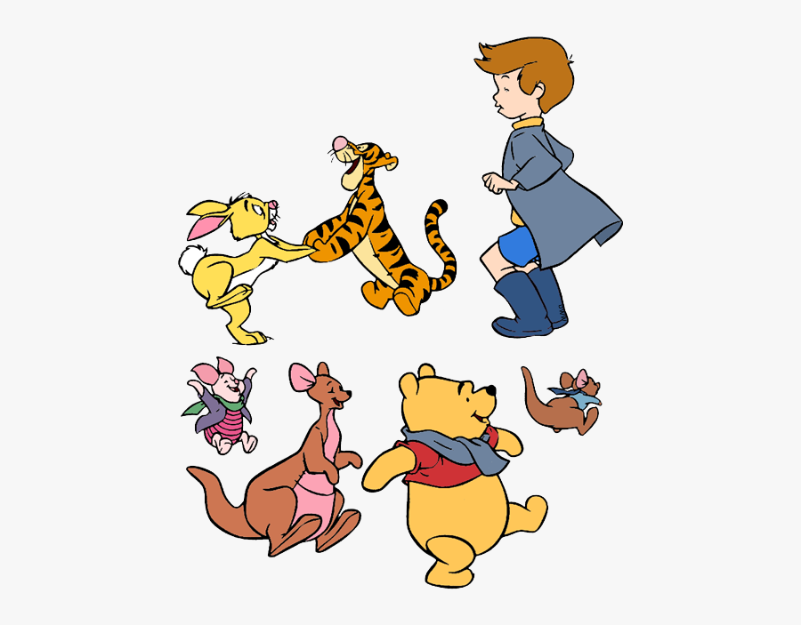 Robin Clipart Winnie - Winnie The Pooh Characters Christopher Robin, Transparent Clipart