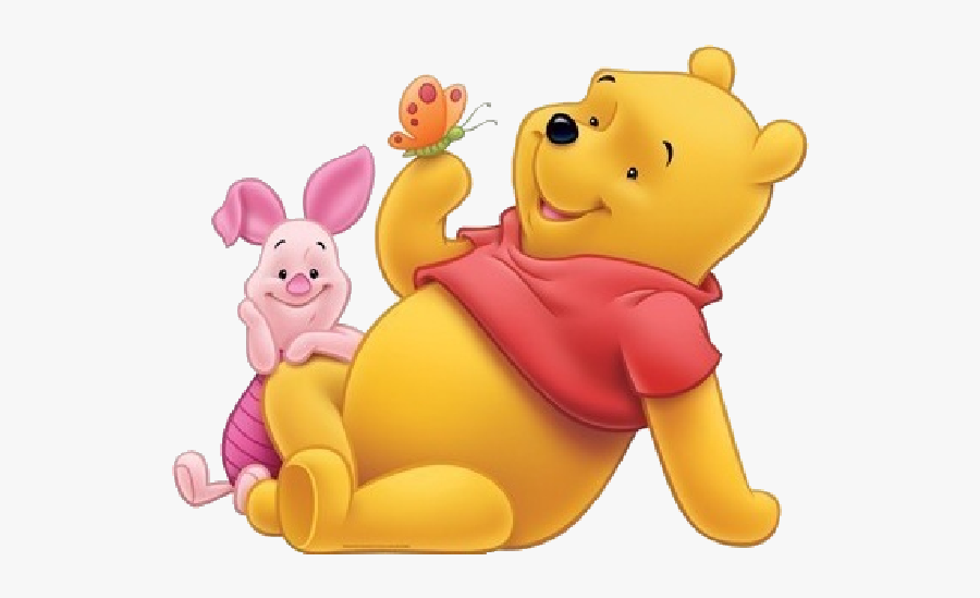 Winnie The Pooh And Piglet Png, Transparent Clipart