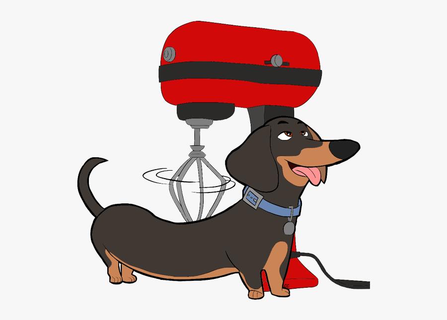 Secret Clipart Pets - Cartoon Dogs From Secret Life Of Pets, Transparent Clipart