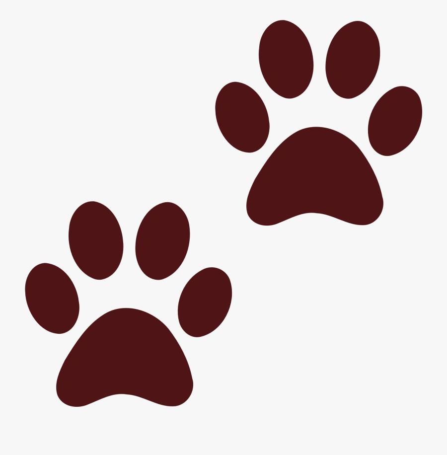 Dog Paw Prints Png, Transparent Clipart