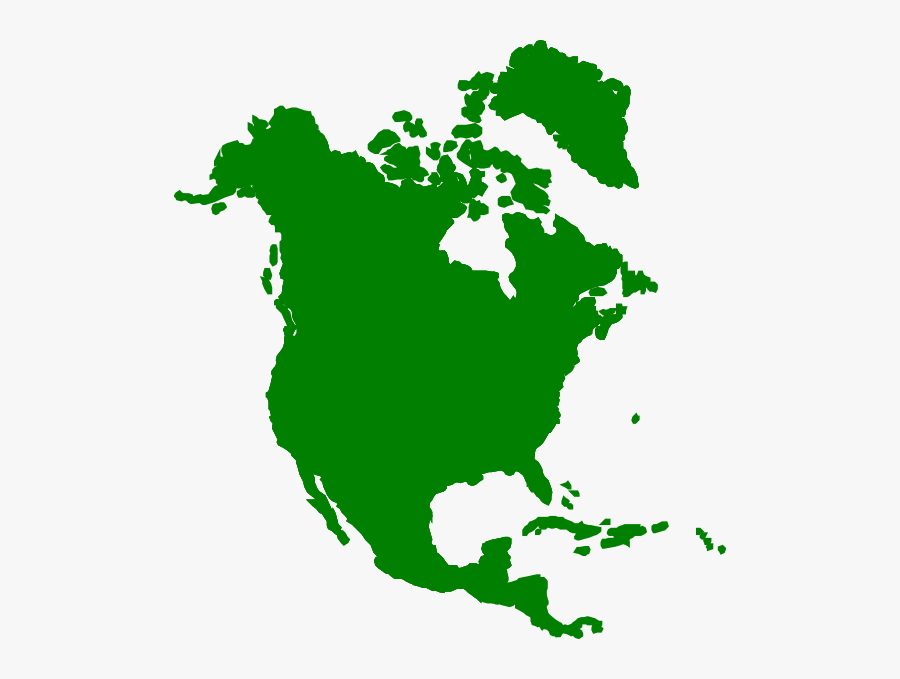 North America Clipart, Transparent Clipart