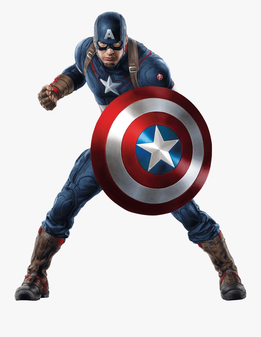 Capitan America En Png, Transparent Clipart