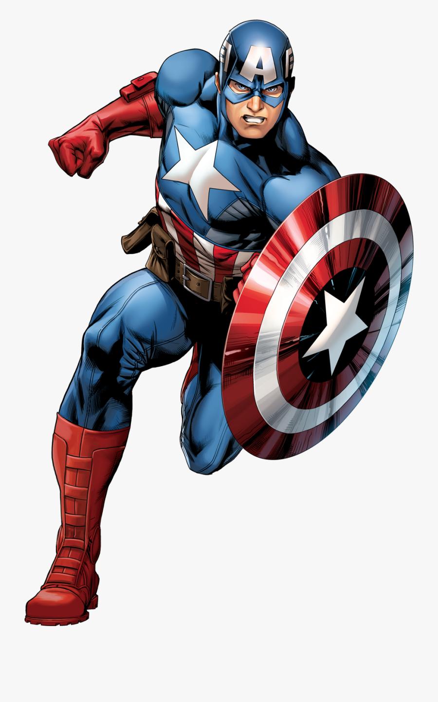 Captain America Png - Capitan America Comic Png, Transparent Clipart
