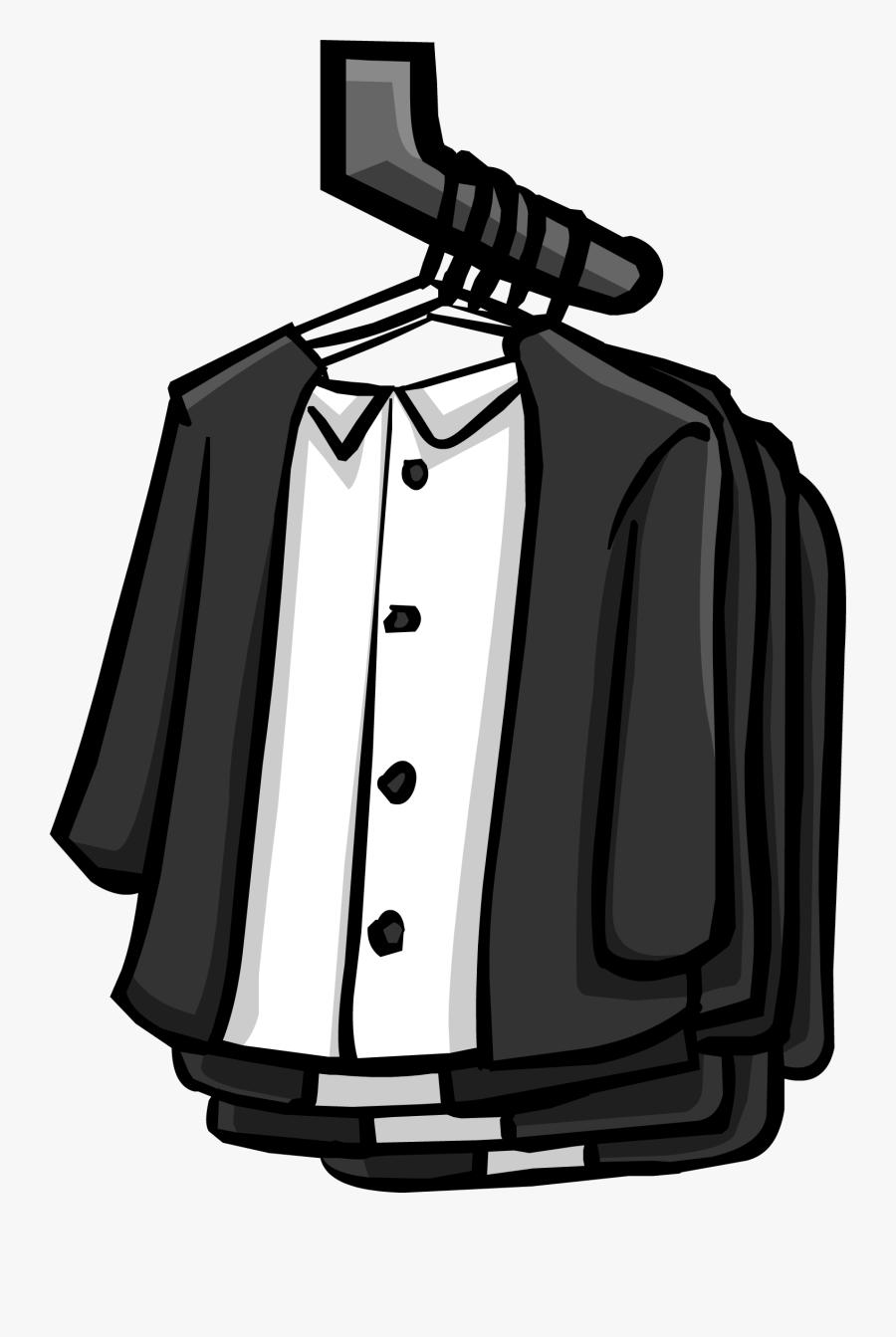 Transparent Clothes Hanger Clipart - Club Penguin Furniture, Transparent Clipart