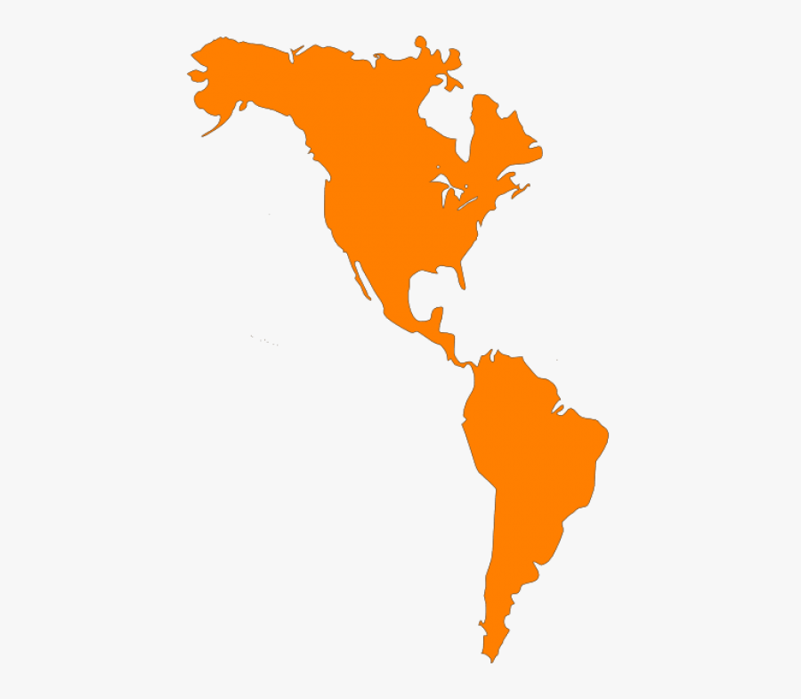 United States Clipart North America - North And South America Map Clipart, Transparent Clipart