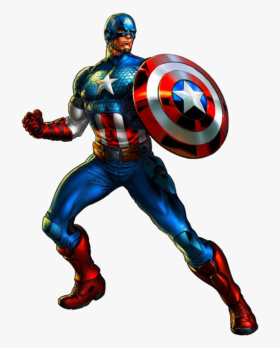 564kb Marvel Captain America Clipart - Marvel Captain America Png, Transparent Clipart