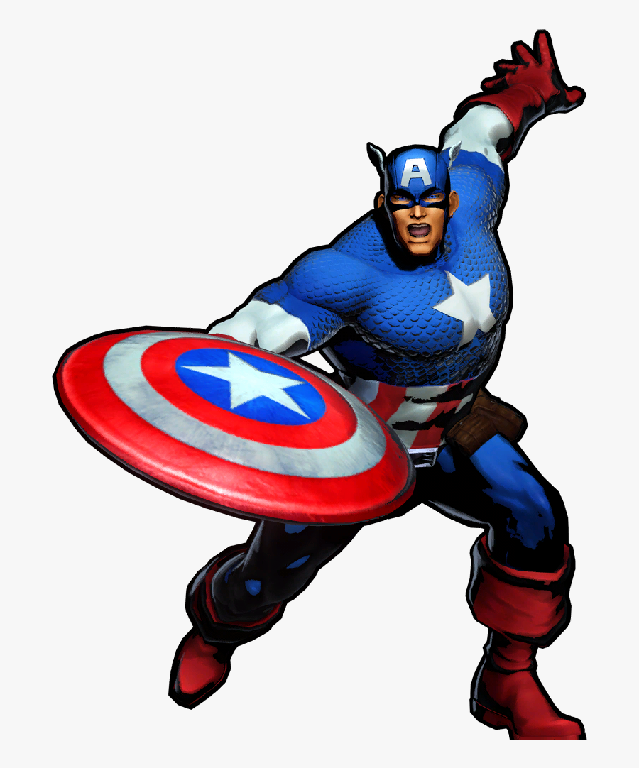 Captain America Clipart Wikia - Captain America Marvel Cartoon, Transparent Clipart
