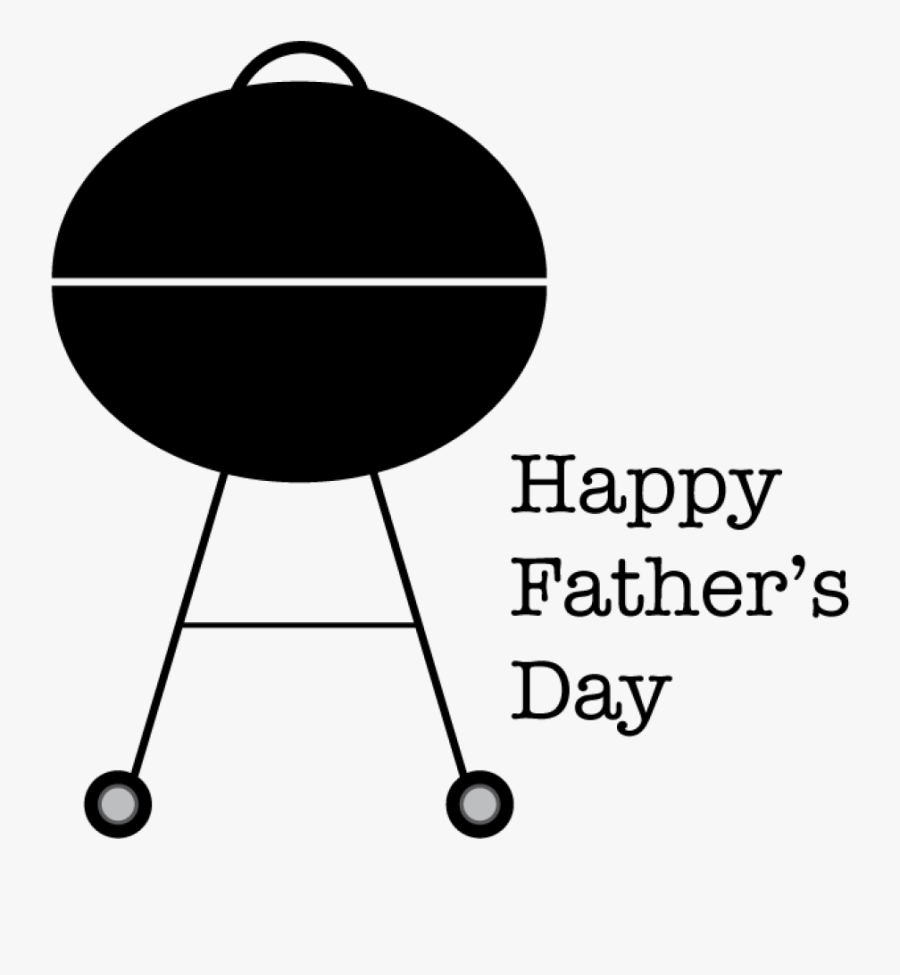 Happy Father's Day Barbecue, Transparent Clipart