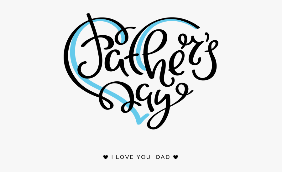 Clip Art Fathers Day Background - Transparent Background Father's Day Clip Art, Transparent Clipart