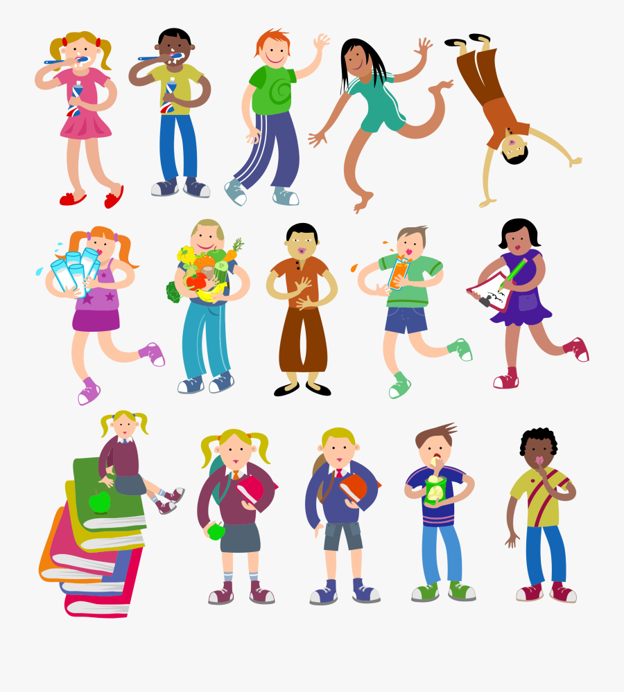 Image Transparent Diverse Group Of People Clipart - Different People Free Stock, Transparent Clipart