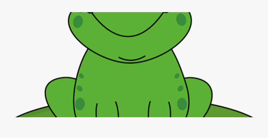 Cartoon Frog On Lily Pad Clipart , Png Download - Frog On A Lily Pad Clipart, Transparent Clipart