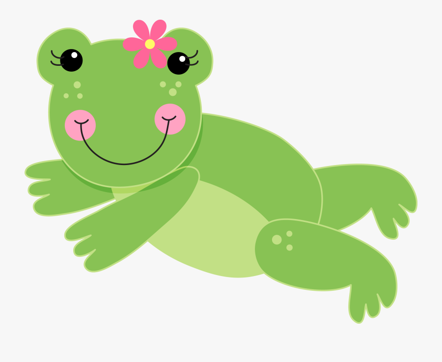 Transparent Lily Pads Png - Frog Face Cartoon, Transparent Clipart