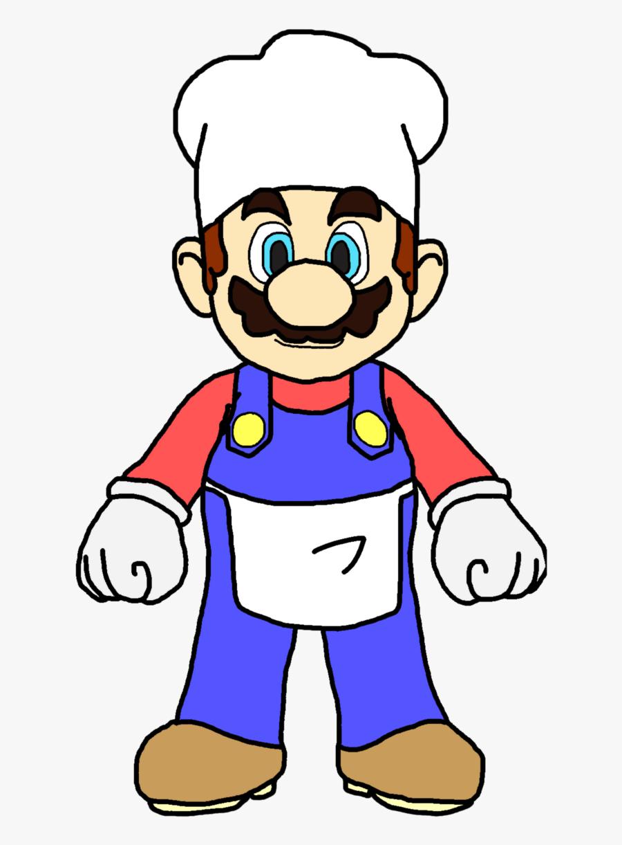 Mario Cooking Cliparts - Blue Mario Smash 4, Transparent Clipart