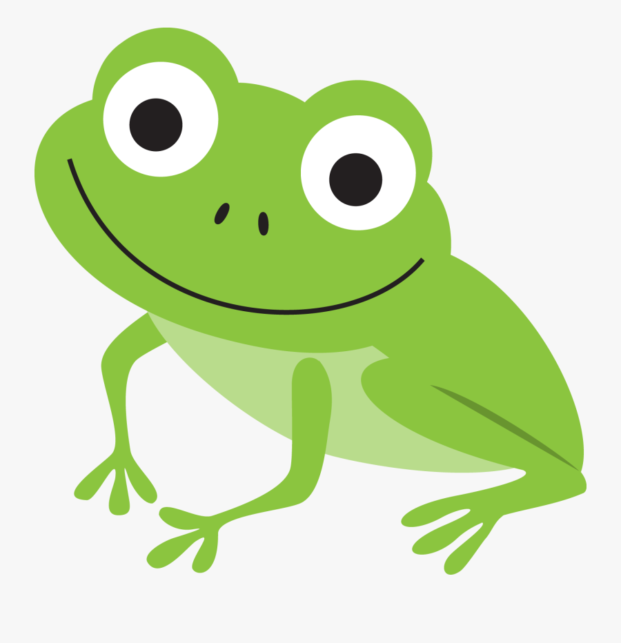 Pin By - Cute Frog Animated Gif, Transparent Clipart
