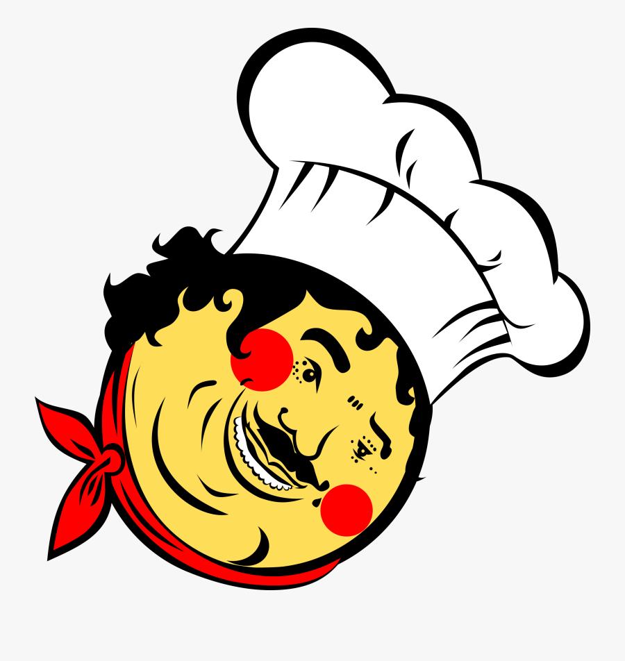 Head,flower,art - Chef Face Cartoon Png, Transparent Clipart