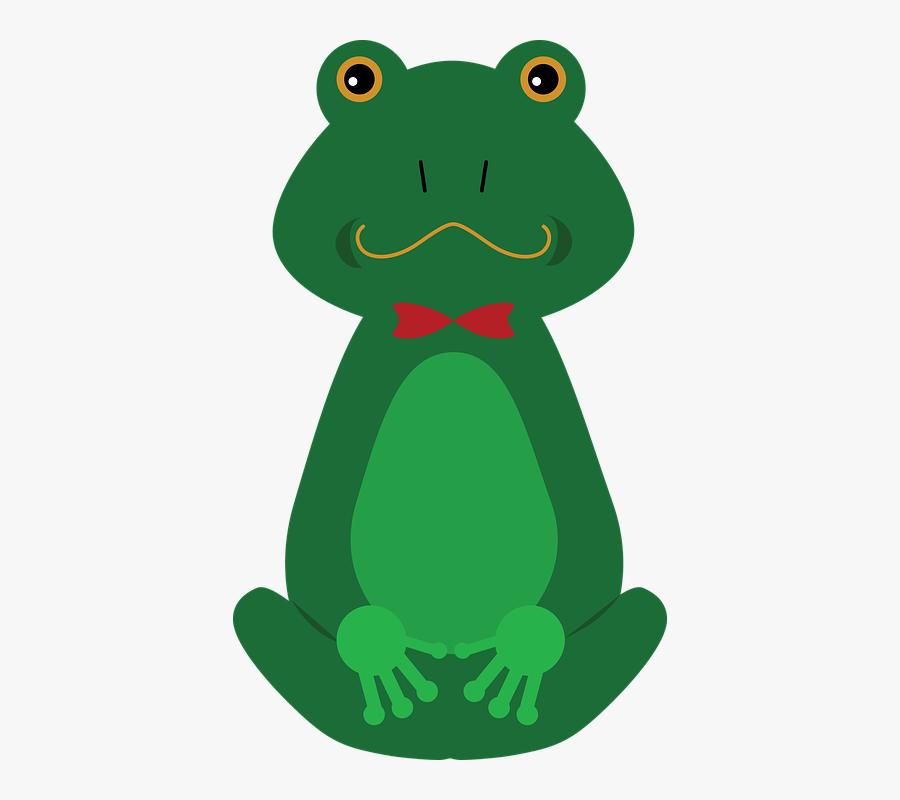 Lily Pad Clipart Cartoon Frog On Lily Pad 4424017 Shop - Clipart Rana Con Bocca Aperta, Transparent Clipart