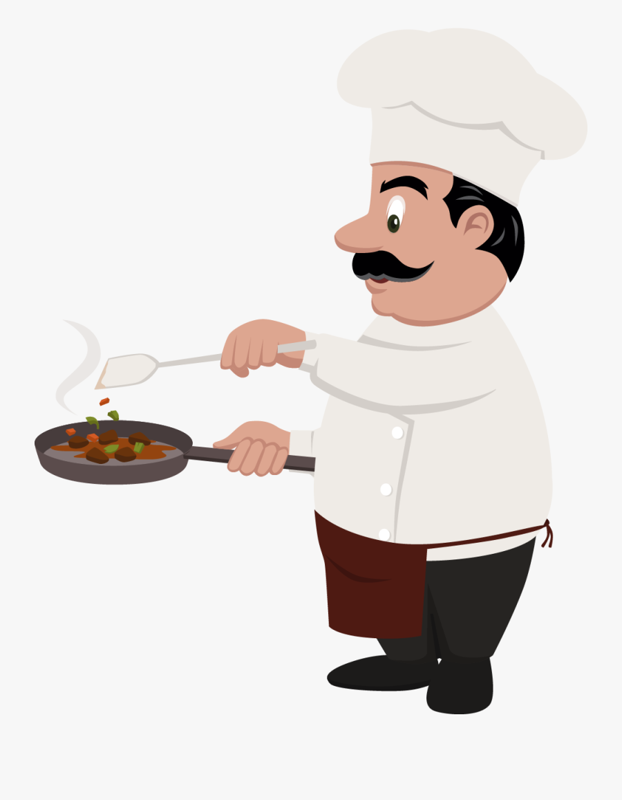 Chef Cooking Euclidean Vector Cook Cartoon Png Free Transparent Clipart Clipartkey