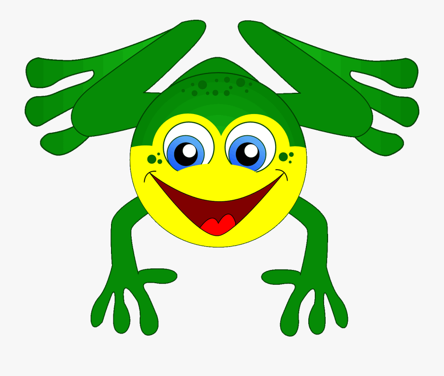 Frog On Lily Pad Clipart 23, - Gambar Kodok Png, Transparent Clipart