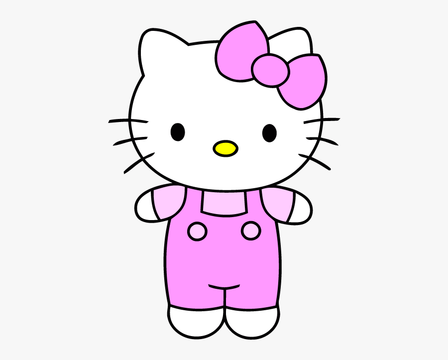 Hello Kitty Clipart Very Easy Cartoon Drawing Free Transparent Clipart Clipartkey