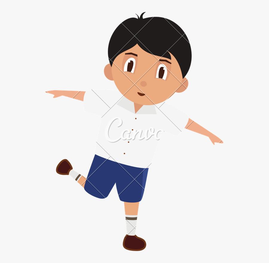 School Clipart Uniform - Cute School Kid In Uniform Clipart, Transparent Clipart