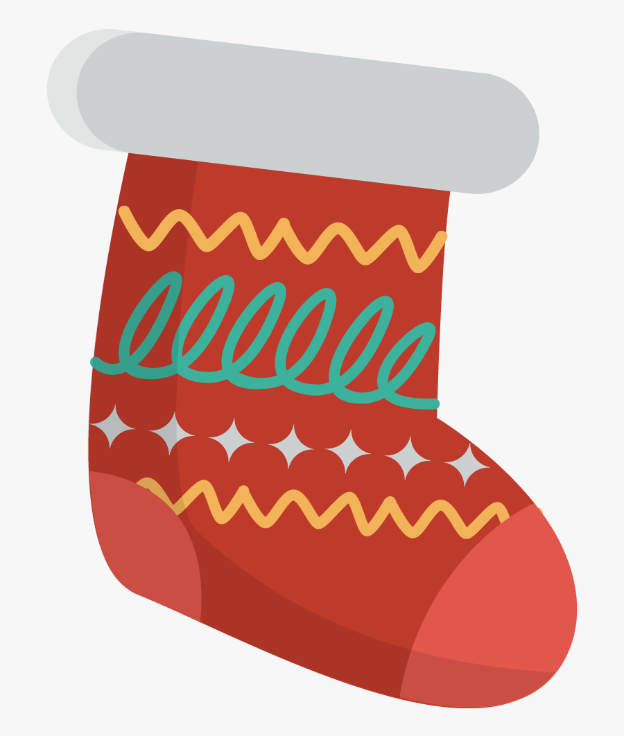 Stocking Clipart Cute Christmas Stocking - Christmas Stockings Clipart, Transparent Clipart