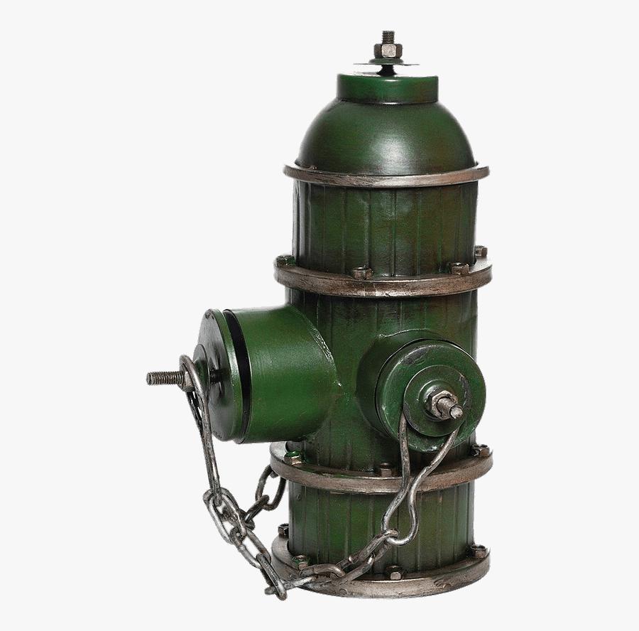 Green Decorative Fire Hydrant - Green Transparent Fire Hydrant, Transparent Clipart