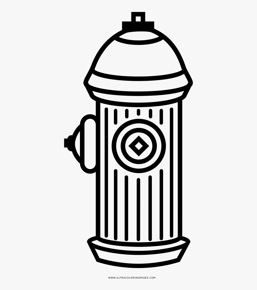 Fire Hydrant Coloring Page - Desenho Do Free Fire, Transparent Clipart